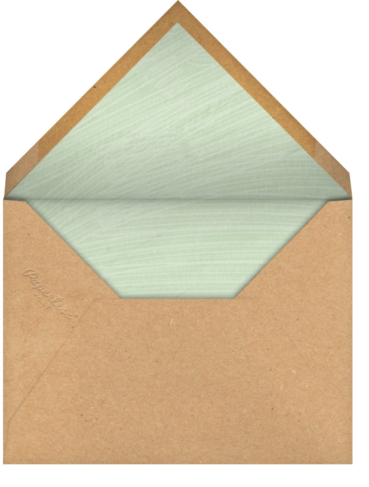 Hanging Plants - Paperless Post - Just because - envelope back
