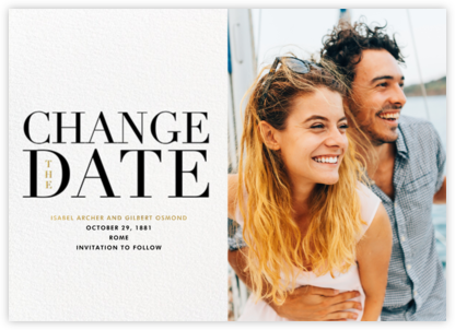 One Fine Date - New Date - Paperless Post - Save the dates