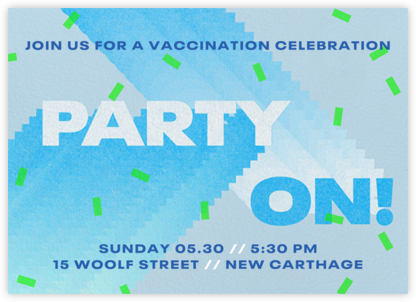 Party On - Paperless Post -