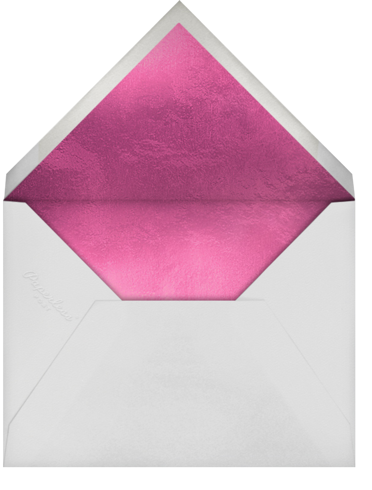 Raining Roses Photo - Paperless Post - Quinceañera - envelope back