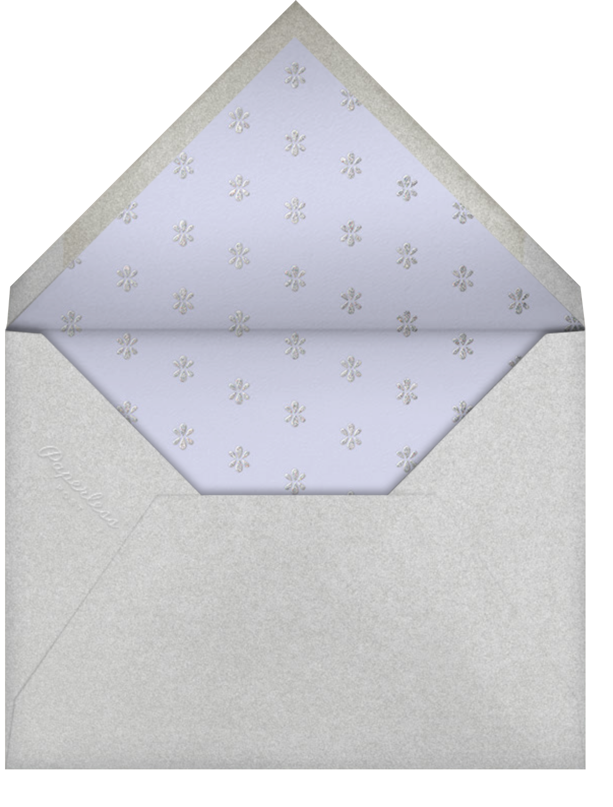 Ornate Occasion Photo - Forget-Me-Not - Paperless Post - Quinceañera - envelope back