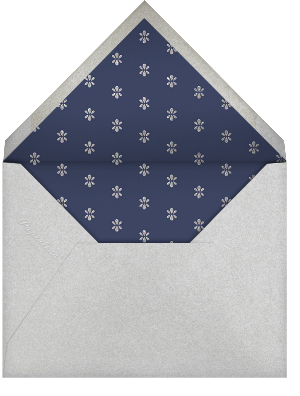 Ornate Occasion - Navy - Paperless Post - Envelope