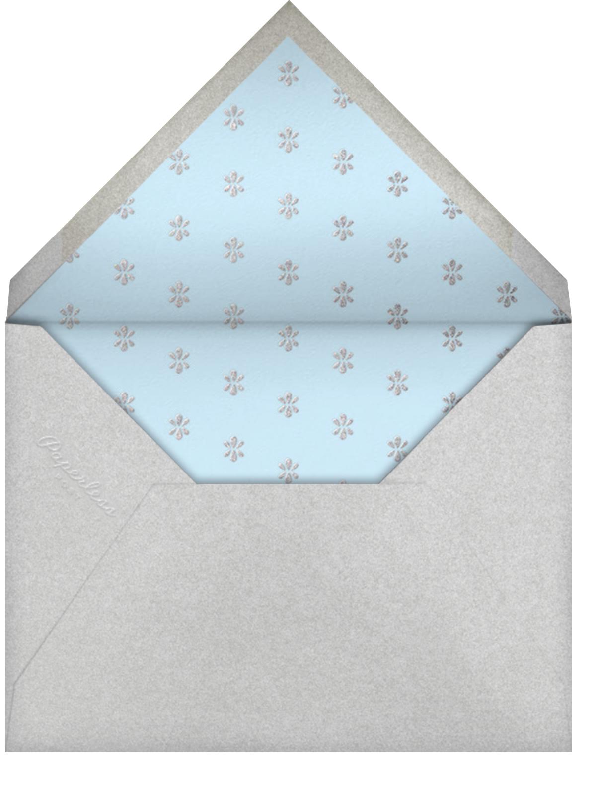 Ornate Occasion - Glacier - Paperless Post - Envelope