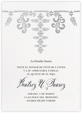 Ornate Occasion - White - Paperless Post -