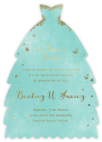 Hermoso Vestido - Tiffany - Paperless Post -