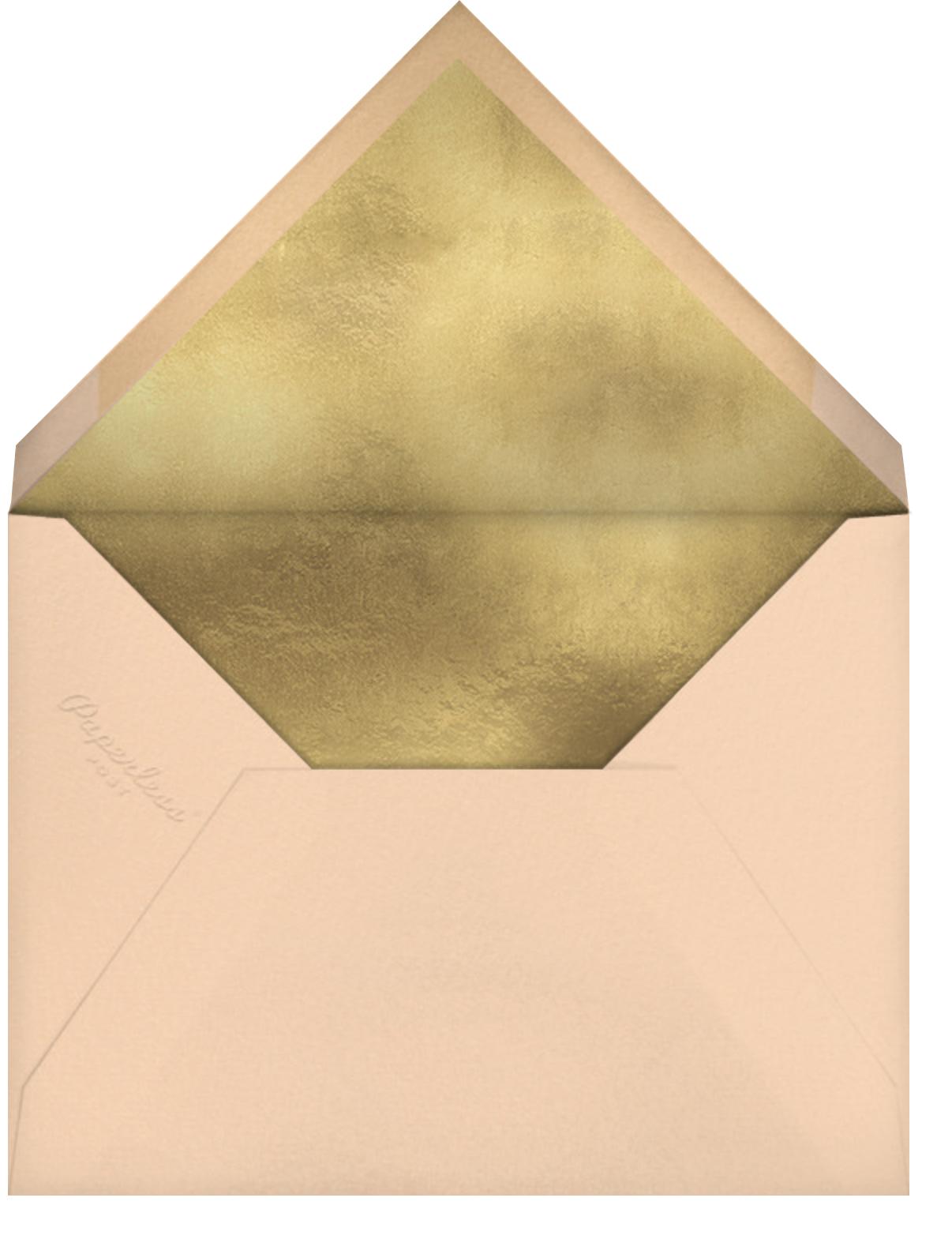 Hermoso Vestido - Bellini - Paperless Post - Quinceañera - envelope back