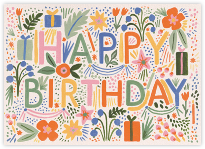 Fiesta Birthday - Rifle Paper Co. -