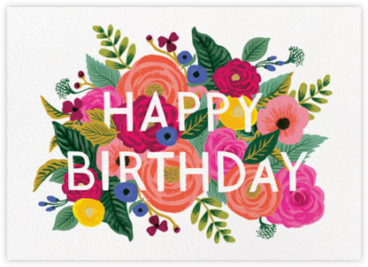 Juliet Rose Birthday - Rifle Paper Co. -