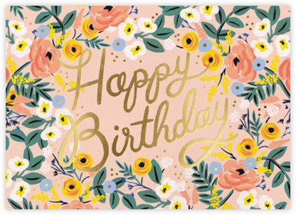 Rosé Birthday - Rifle Paper Co. -