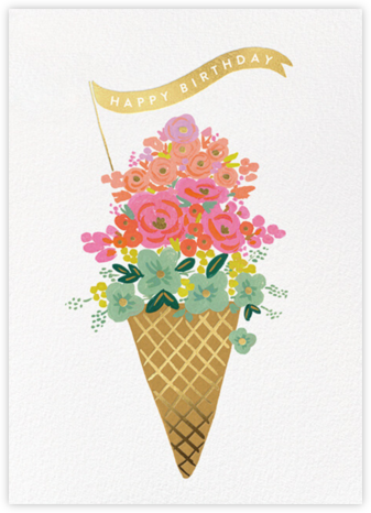 Ice Cream Birthday - Rifle Paper Co. -