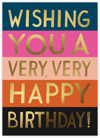 Color Block Birthday - Rifle Paper Co. -