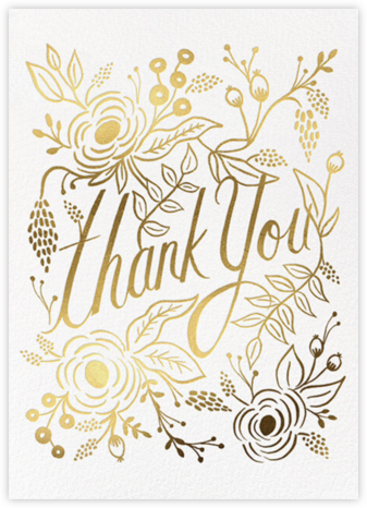 Marion Thank You - Rifle Paper Co. - Online Thank You Cards