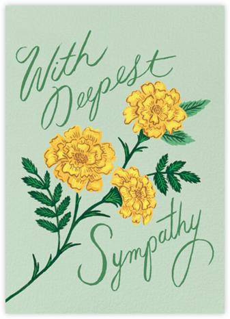 Marigold Sympathy | tall