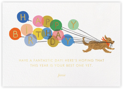Balloon Dog Birthday - Rifle Paper Co. -