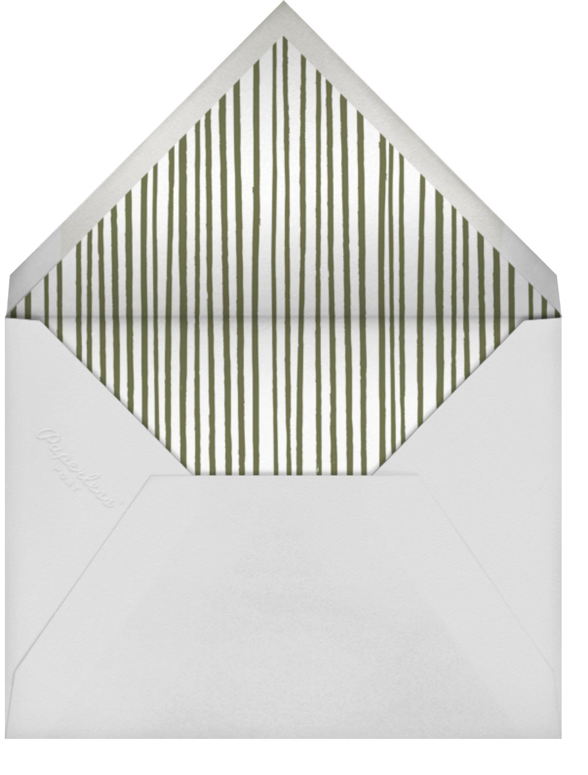 Poppies - Crimson - Paperless Post - Envelope