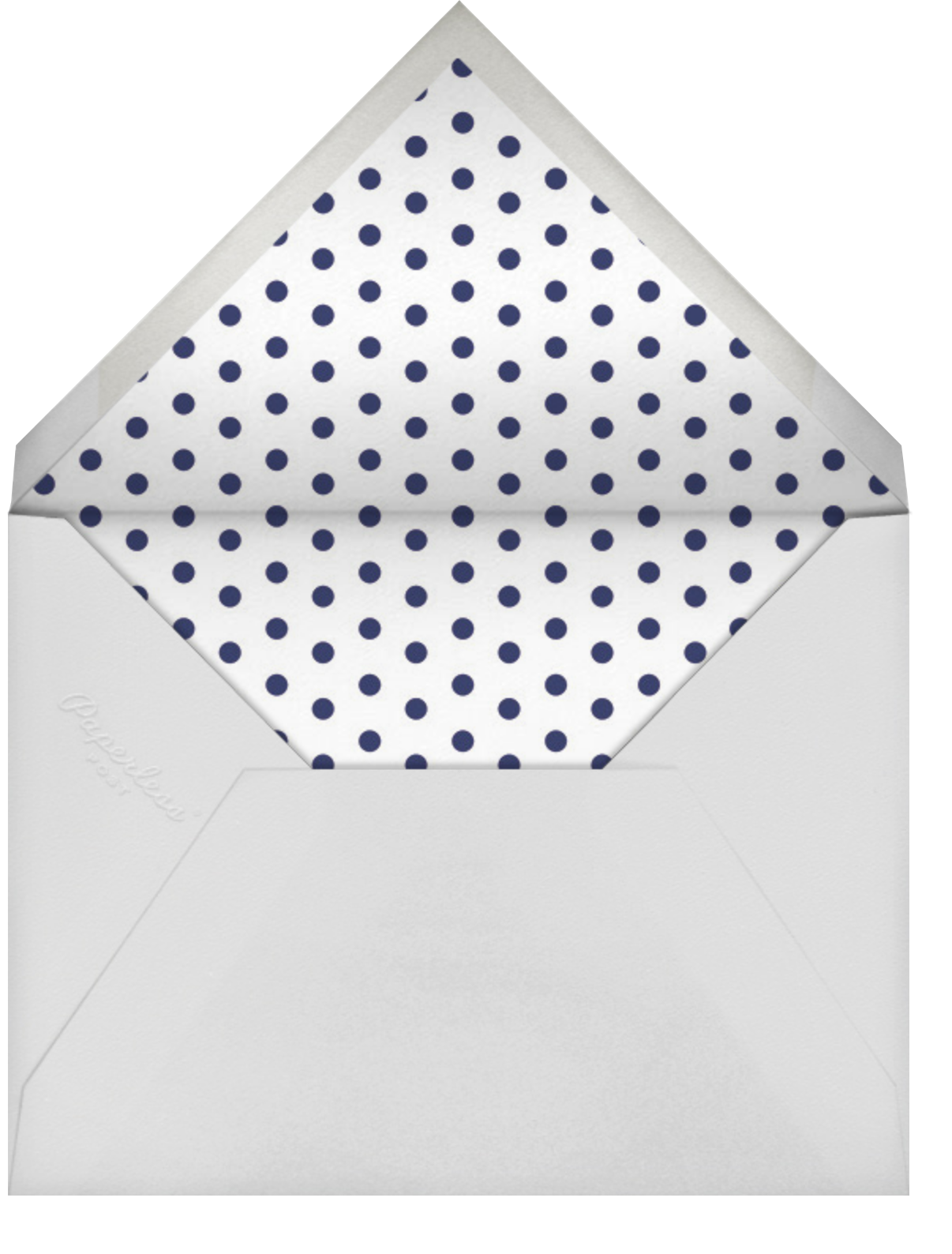 Carnaby (Tall) - Red/Blue - Paperless Post - Envelope