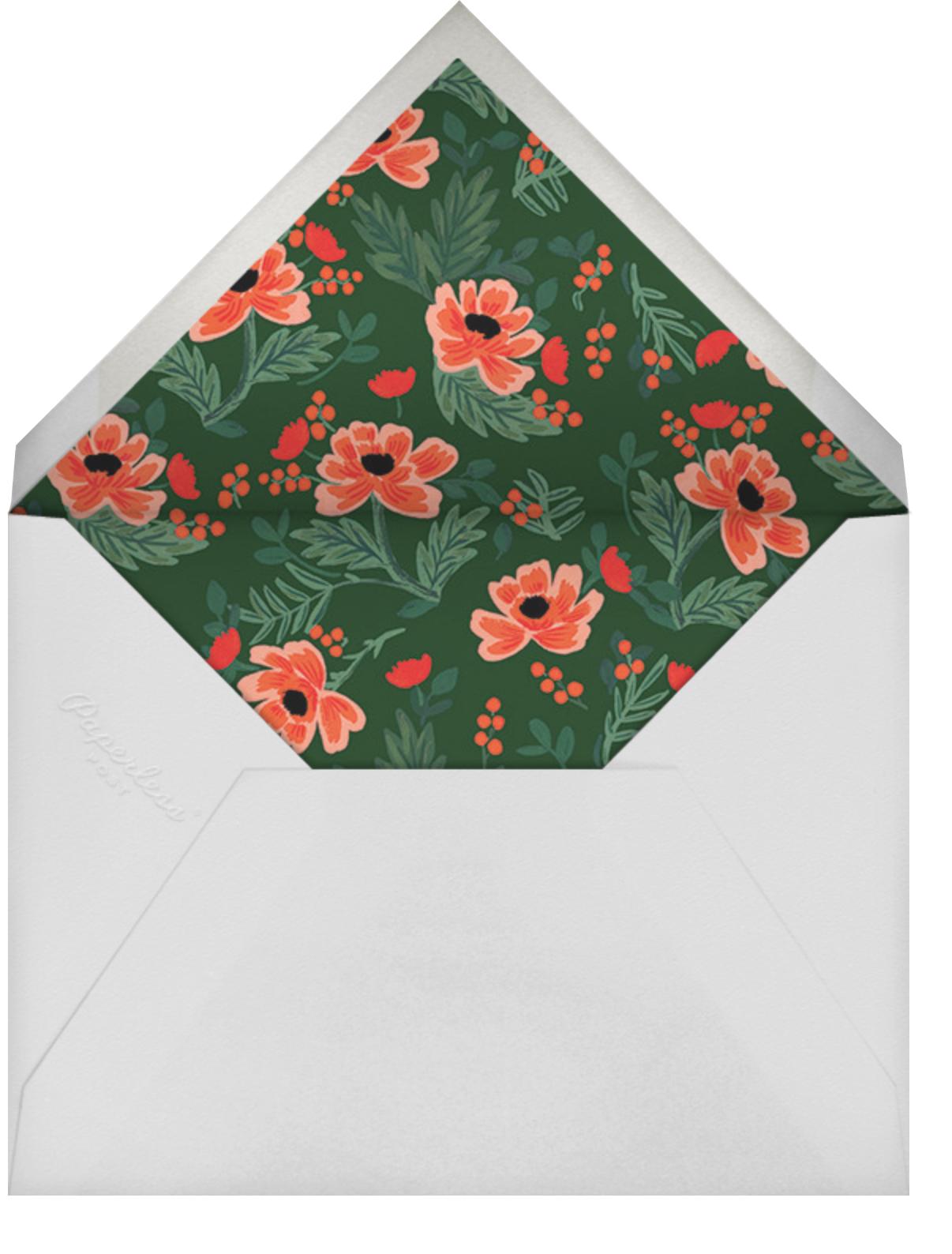 Field Poppies (Horizontal) - Rifle Paper Co. - Envelope