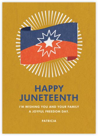 Juneteenth Flag | tall