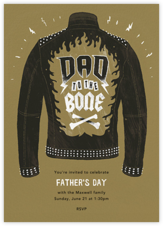 Dad Behavior - Paperless Post