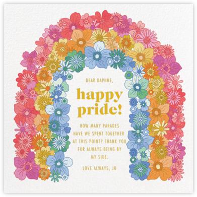 Flower Arch - Paperless Post -