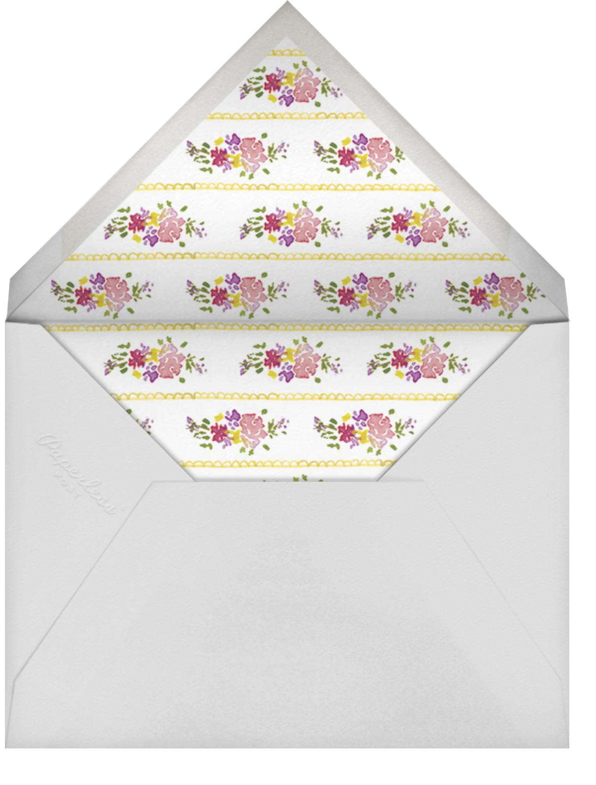 Petits Fours Secs - Paperless Post - Envelope