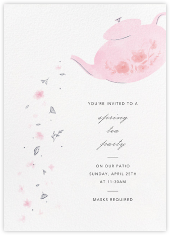 Pouring Petals - Paperless Post -