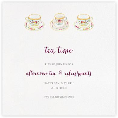 Three Cups of Tea - Paperless Post -