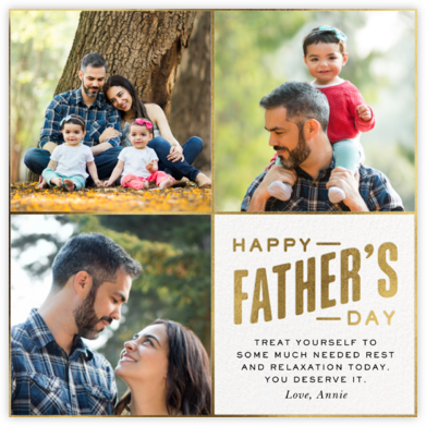 Square Dad - Paperless Post -