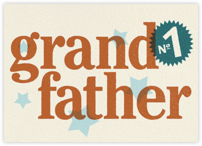 No 1 Like You (Grandfather) - Paperless Post -