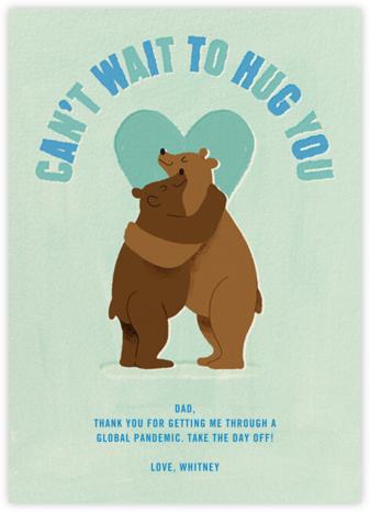 Papa Bear Hug - Paperless Post