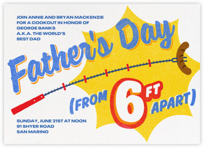 Skewer Invited - Father's Day - Paperless Post -