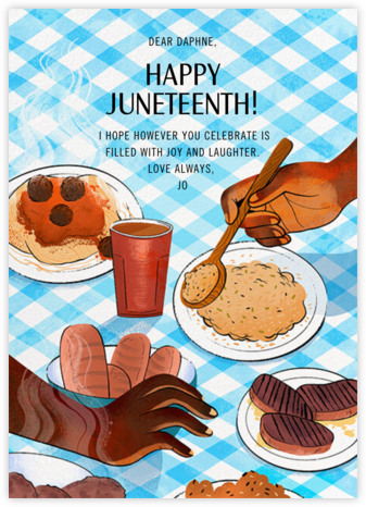Juneteenth Table - Paperless Post