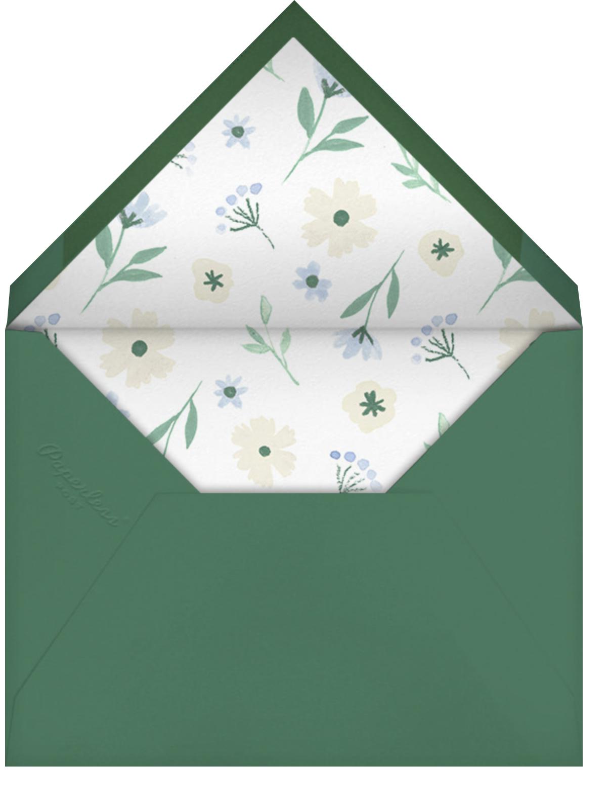 Backyard Blooms - Paperless Post - Envelope