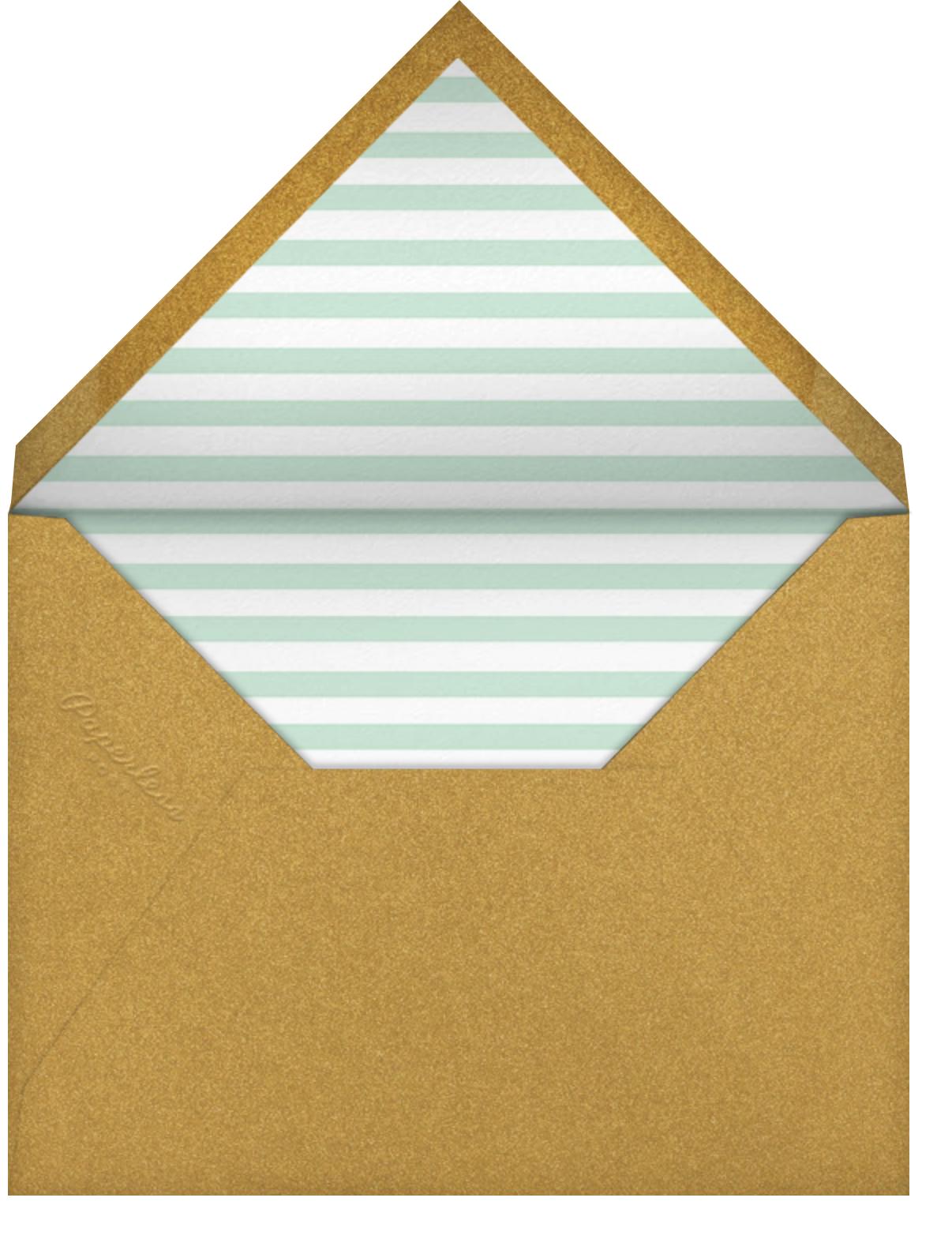 Critter Parade - Paperless Post - Envelope