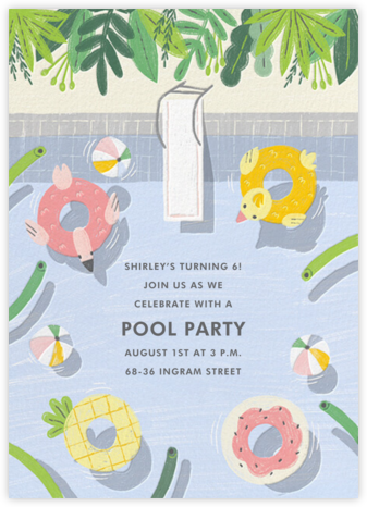 Cool Pool - Paperless Post