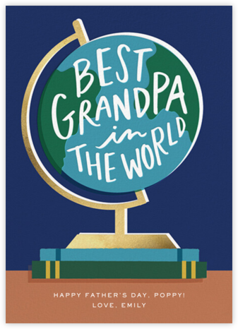 Grandpa Globe - Cheree Berry Paper & Design