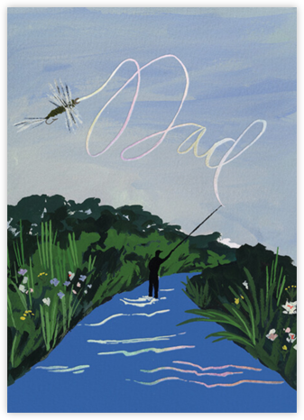 Fly Dad (Emily Isabella) - Red Cap Cards -