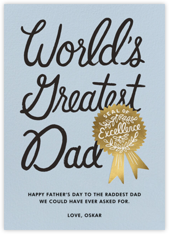 Greatest Dad - Rifle Paper Co.