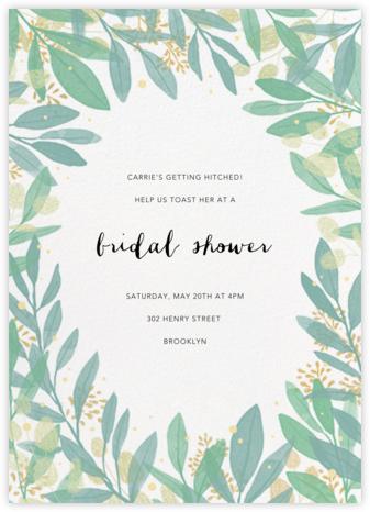 Laurelwood (Invitation) - White - Paperless Post