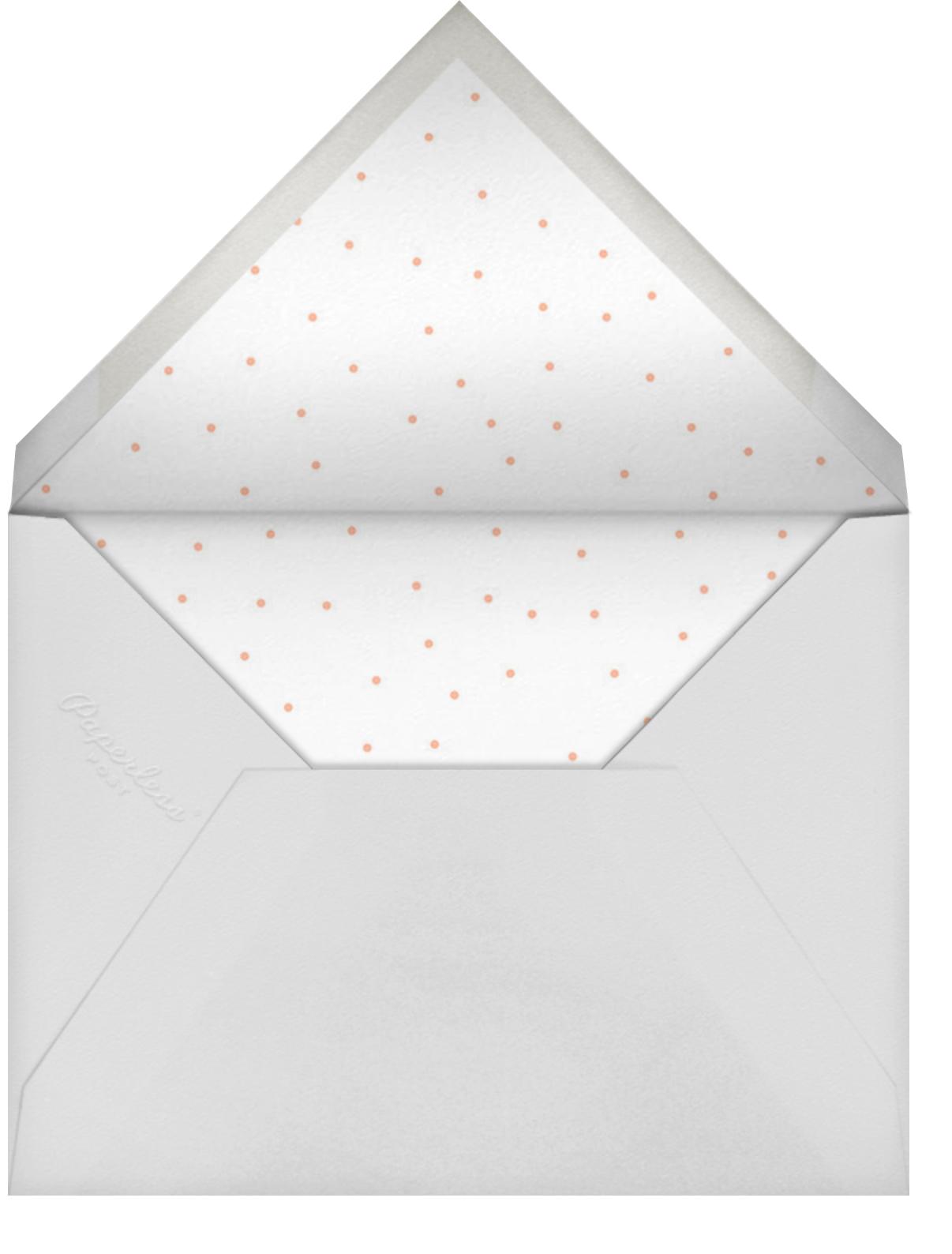 Watercolor Retirement - Maquillage - Paper Source - Envelope