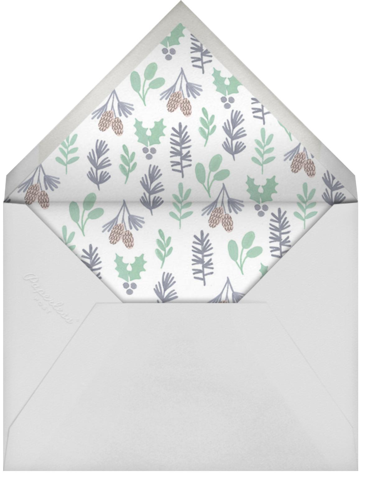 Winter Mobile - Paperless Post - Envelope