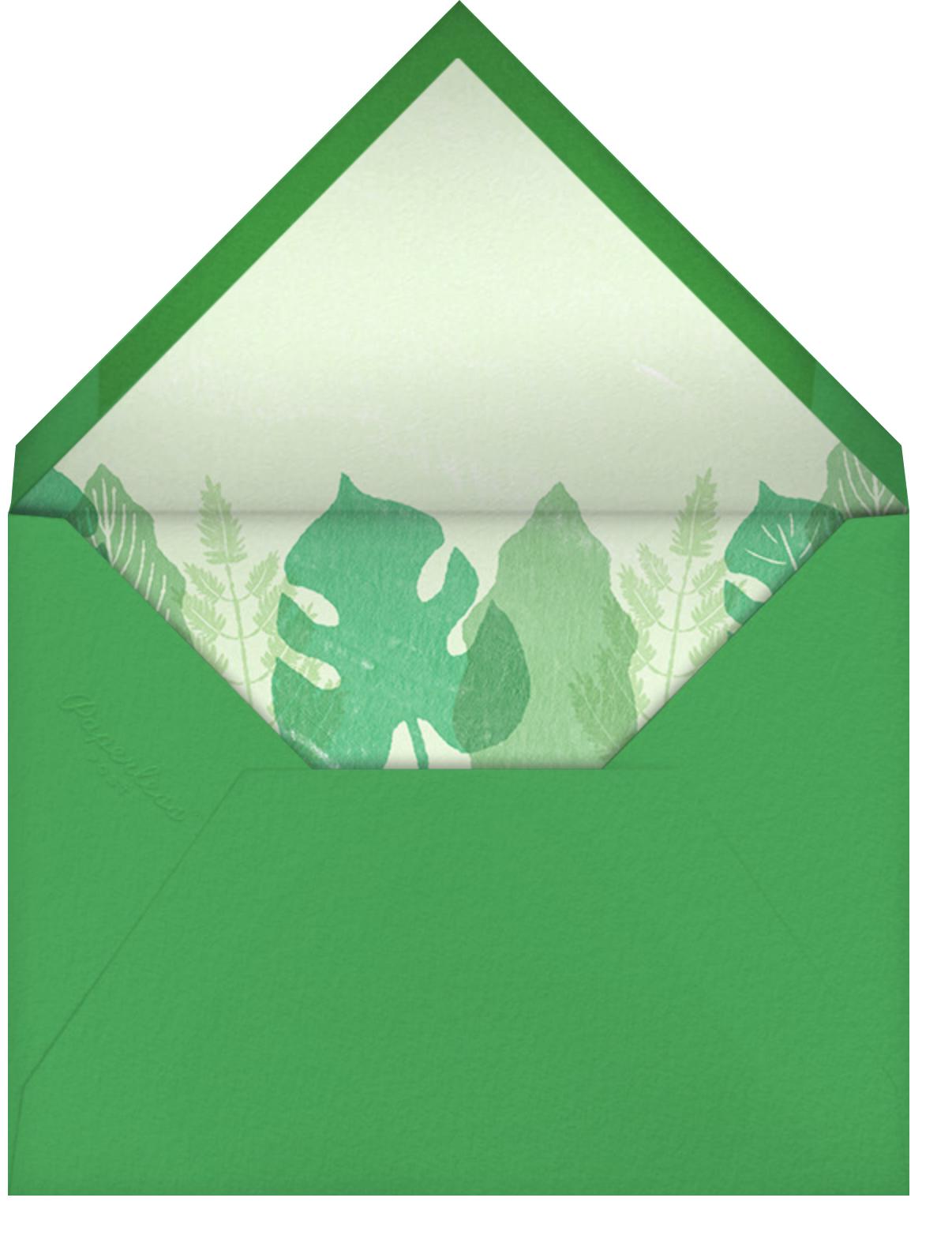 Tropical Frame - Paperless Post - Envelope