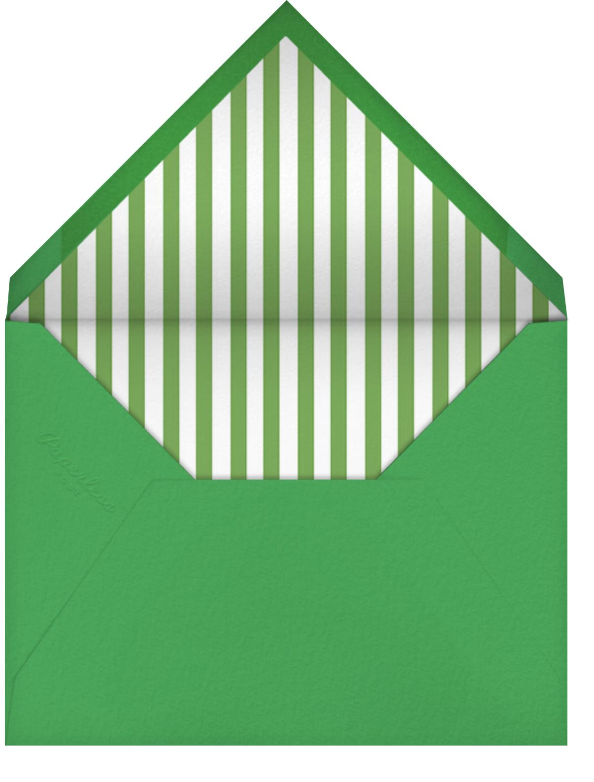Shady Spot - Paperless Post - Envelope