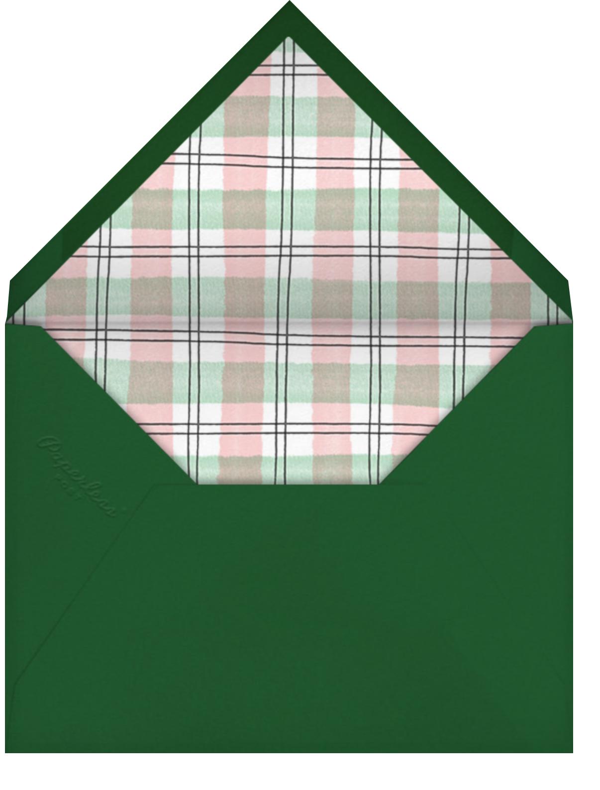 Jolly Greenery - Paperless Post - Envelope