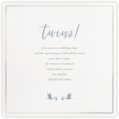 Small Storks - Spring Rain - Sugar Paper