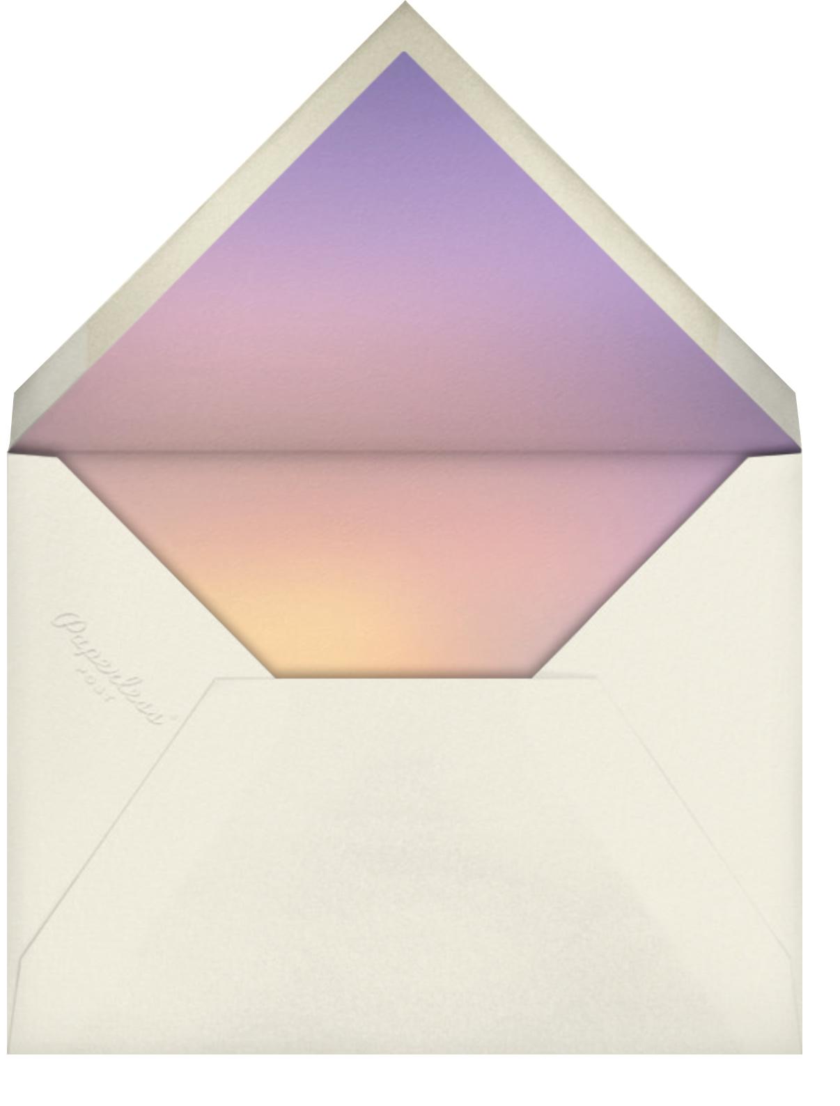 Glowing Sky - Vashti Harrison - Envelope