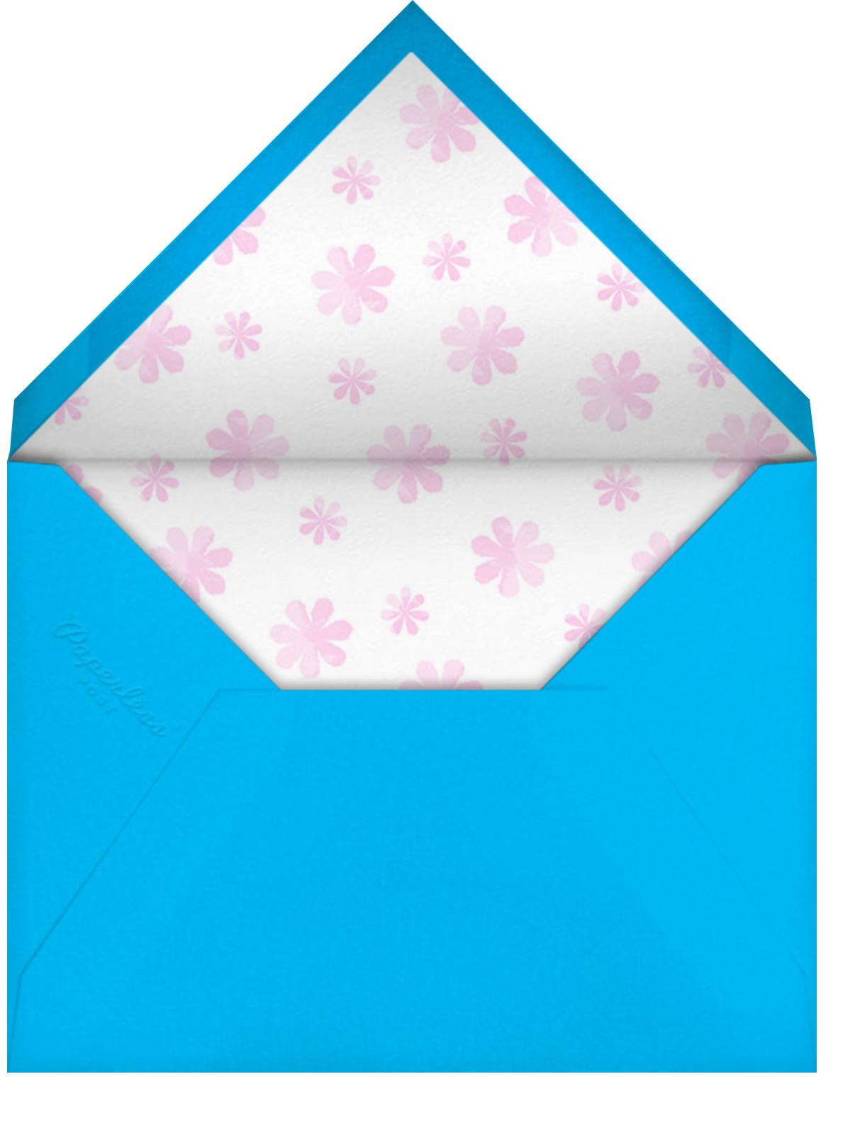 Shaded Pool - Paperless Post - Envelope