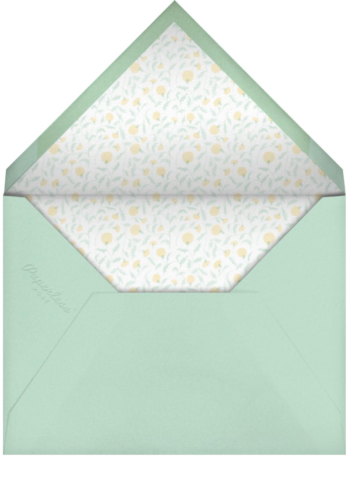 Toadstool - Paperless Post - Envelope