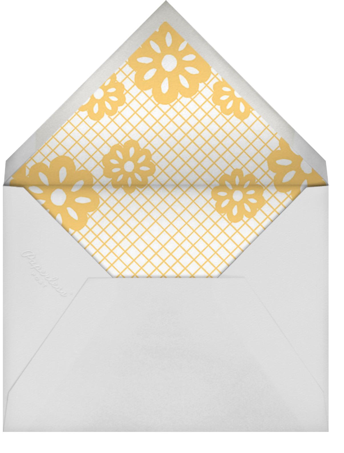 Papel Picado Celebration - Paperless Post - Envelope