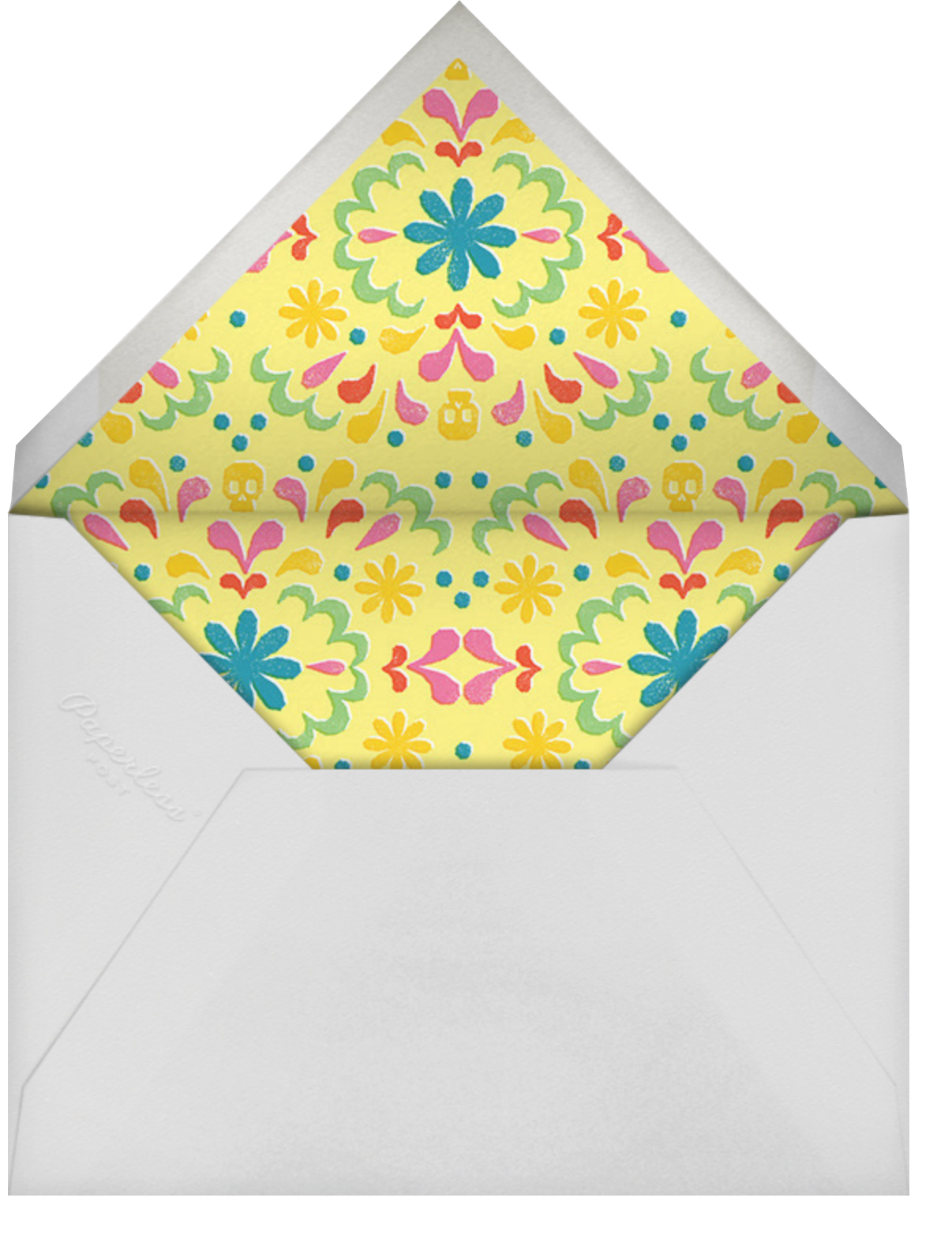 Amarillo - Paperless Post - Envelope
